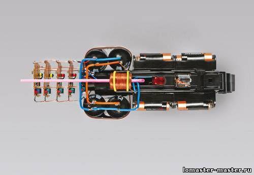 схемы – Индукционной пушки