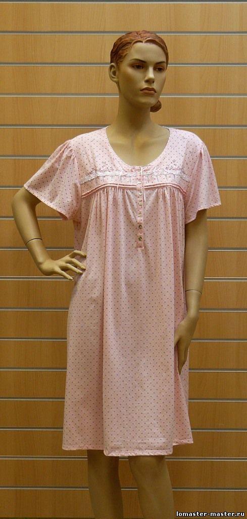 Ночная сорочка выкройки - Выкройка