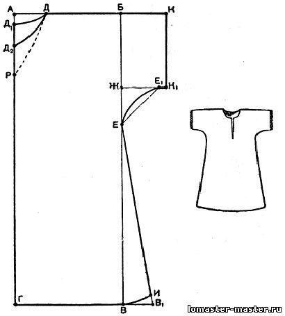 Пошив ночных сорочек своими руками